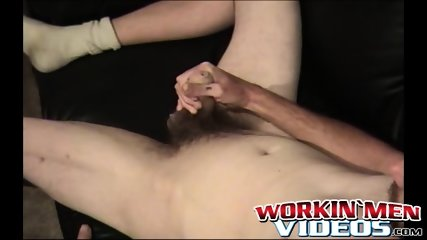 Nasty old dude Daniel loves spraying his cum all over - scene 5