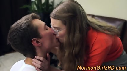 Hairy pussy mormon banged