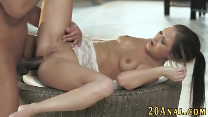 Babe gets big cock in ass - scene 8