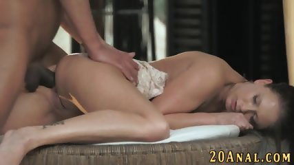 Babe gets big cock in ass - scene 9