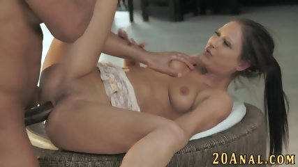 Babe gets big cock in ass - scene 7
