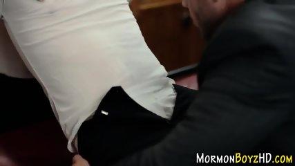 Gay bishop bareback fucks
