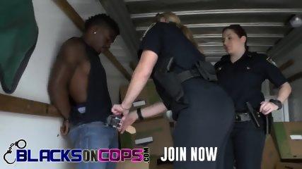MILF officers craving badly for that rock hard boner