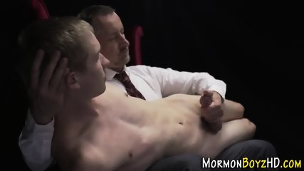 Mormon twink gets toyed