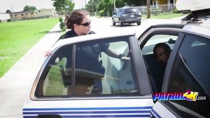 Kinky cops blowing monster dick