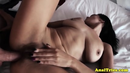 Anally drilled gf loves riding hard cock - scene 9