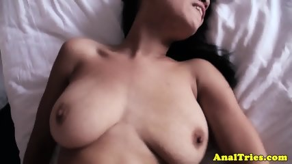Anally drilled gf loves riding hard cock - scene 10