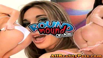 Dakota gets her Round perfect ass banged! - scene 1
