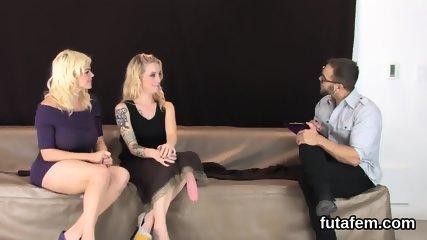 Cuties pound men anal with huge belt dicks and blast spunk