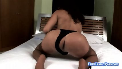 Busty shemale banging dude s ass