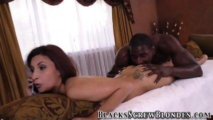 Teen ho rides black dick
