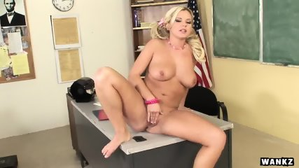 WANKZ- Bree Olson In Detention