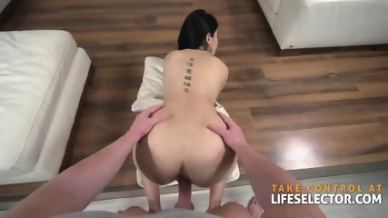 Lady Dee - Brunette Babe Fucked Hard By Big White Dick - scene 11