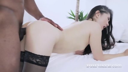 The Asian Katana In Her First Interracial - scene 9