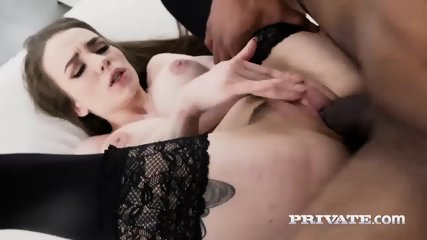 Maid Angel Rush Debuts In Hot Interracial