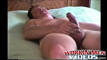 He strokes his cock and remembers his friends from the joint
