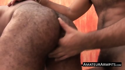 Hairy latino studs love drilling each other in the ass