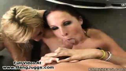 Blowjob Orgy Pornstars - scene 12