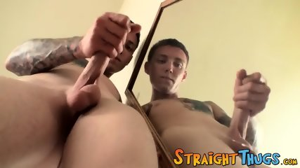 Homo Thug Blinx Likes To Jack Off His Hairy Tool Solo