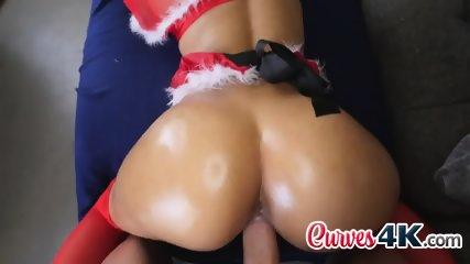 Demi Lopez dressed and fucked like santa klaus on a horny night - scene 11