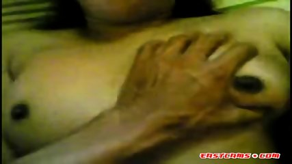 Busty indian slut gets her puffy pussy fucked hard