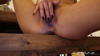 Sexy Little Asian Hottie gets all creamy and fucks a glass dildo