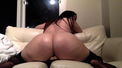 Chubby Cam Girl Fucks Her Dildo Hard