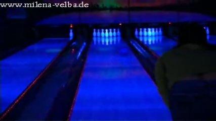Melina Velba HUGE Natrual TITS Bowling - scene 3