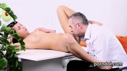 Fervid college girl is seduced and screwed by her older teacher - scene 10