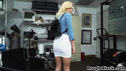 Lusty maid Madison Rose gets her shaved cunt stretched by a big black cock № 789866  скачать