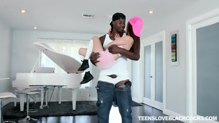 Teenie Rides Black Dick - scene 3