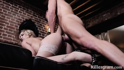 Creampie For Big Titty MILF - scene 9