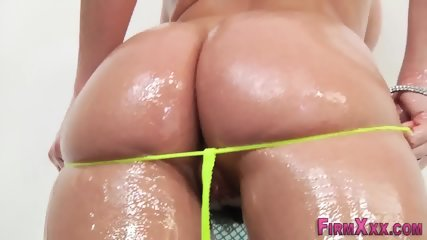 Busty babes tits creamed