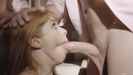 Redhead With Sexy Lingerie And Big Boobs - scene 2