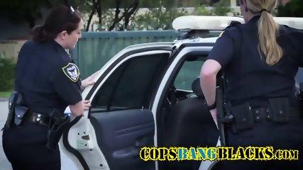 Black criminal goes balls deep into that ass