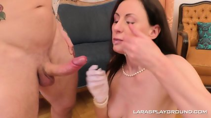 Lara Fucked In Retro Lingerie - scene 12