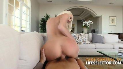 Emma Hix - Cute Blonde Devours Huge Dick - scene 9