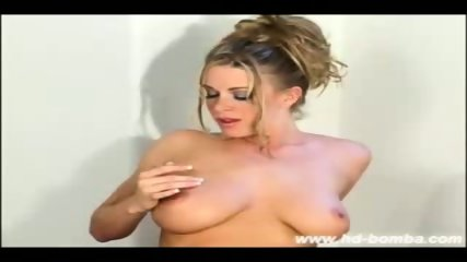 Busty Blonde Sydney Strip - scene 10