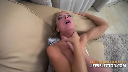 Lusty Threesome With Cum Hungry Babes - scene 9