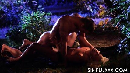 Sex In Garden - scene 11