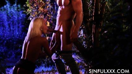 Sex In Garden - scene 6