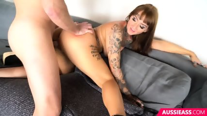 Ass Pounding And Creampie - scene 6