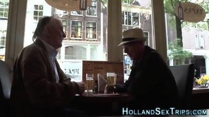 Dutch hooker fingers cunt