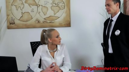 MILF domina assfucked by her submissive