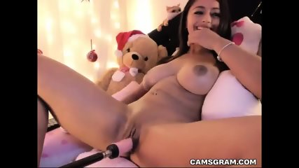 Hot Sexy Ahaved Cammodel Uses Fucking Machines To Pleasure Herself In Total Self Pleasuring