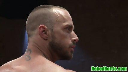Muscle black hunk dicksucking after wrestling