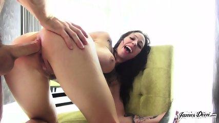 Inked Bitch Gets Hard Cock - scene 7