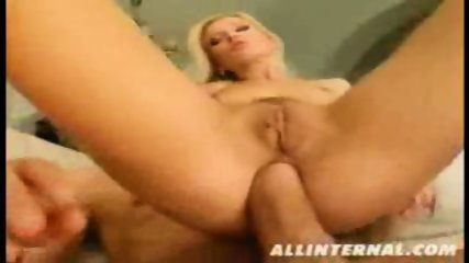 Horny blonde gets deeply fucked in her asshole - scene 6