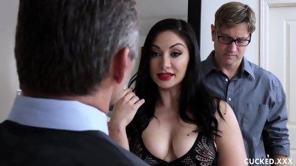 Horny Mom And Her Useless Husband - scene 1