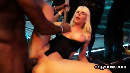 Sultry dolls blow cock and enjoy riding and group sex